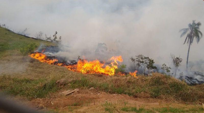 Incêndio na Serra