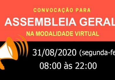 Assembleia Geral Virtual – 31/08/2020